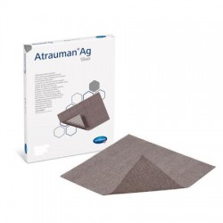 Atrauman AG Silver Impregnated Tulle Dressings 10x10cm (Package of 10 pcs)
