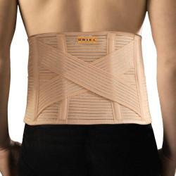 Lumbar belt with 4 panels Criss-Cross Uriel