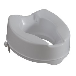 Raised Toilet Seat 15cm with Clamps Mobiak