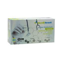 Latex gloves Meditrast powder free (Large/100pcs)