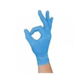 Examination Hybrid Gloves - light blue