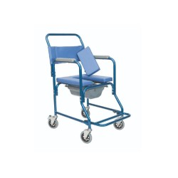 Bathroom Wheelchair with commode