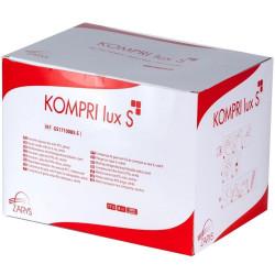 Sterile gauze swab Kompri Lux S 10x10cm 8ply 17 threads (50 pcs)